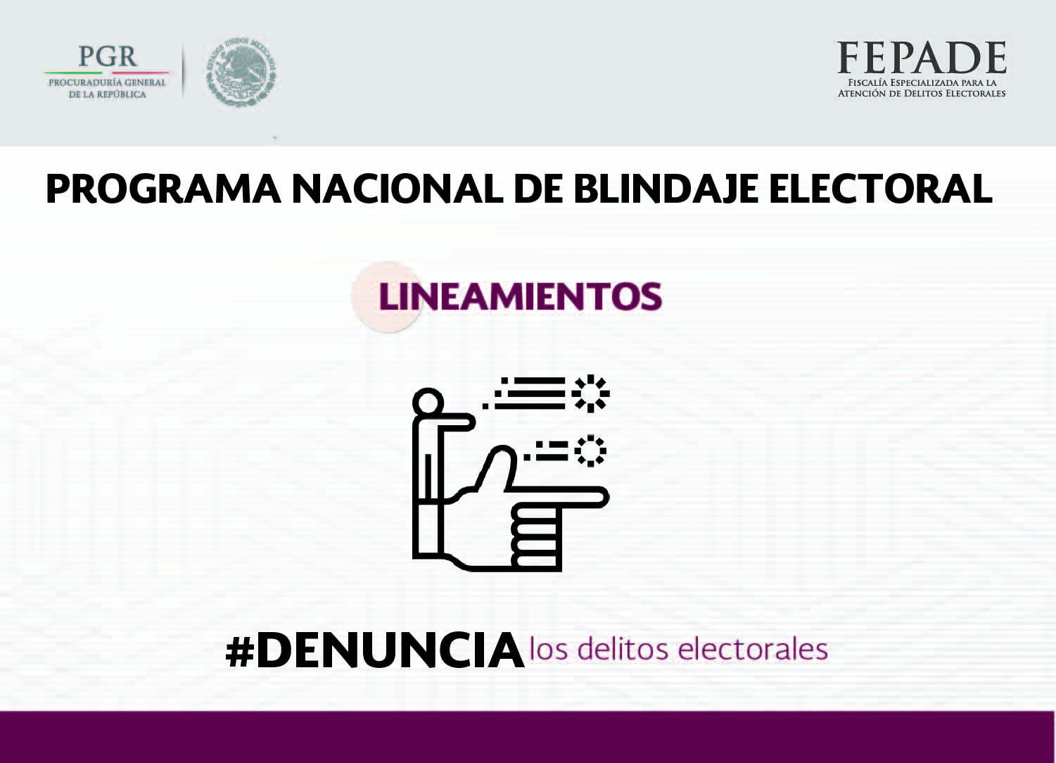 Cartilla de Blindaje Electoral
